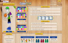Game Screenshot - Cyber Dunk
