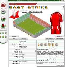 Game Screenshot - Dugout Online