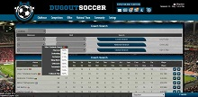 Game Screenshot - Dugout Soccer