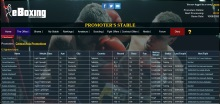 Game Screenshot - eBoxingPromoter