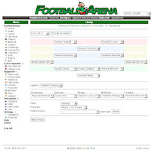 Game Screenshot - Football Arena