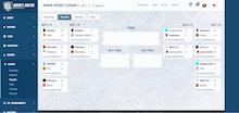 Game Screenshot - Hockey Online Manager