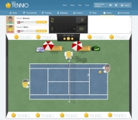 Game Screenshot - Tennio.com
