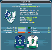 Game Screenshot - Trophy Hockey