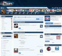 Game Screenshot - WebSimHockey