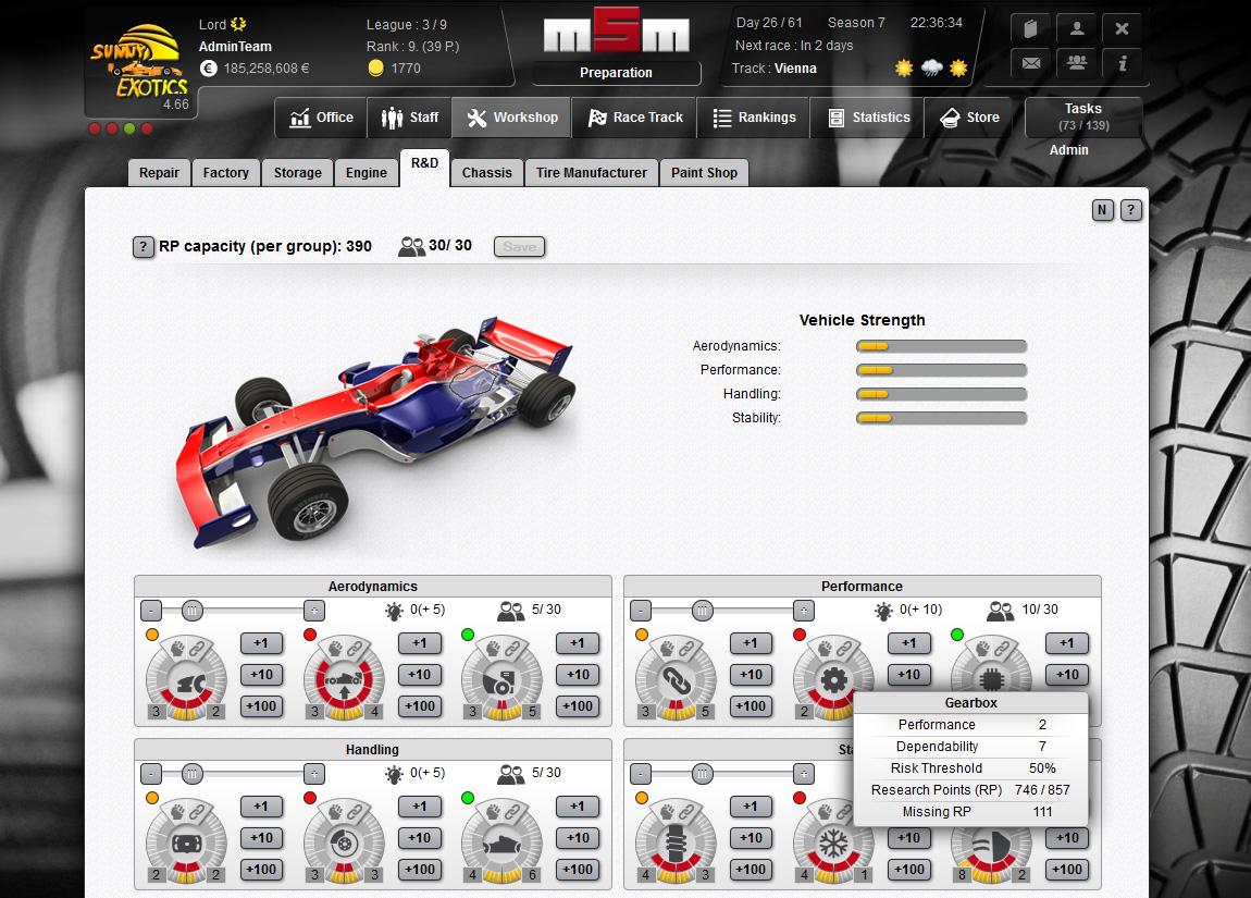 Build A Car Game >> Motorsports Manager - Online motorsport manager game